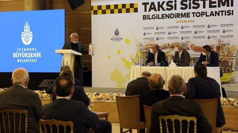 İBB Yeni Taksi Sistemini Tanıttı