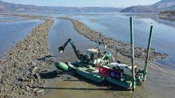Bafa Gölü'ne Can Suyu Kanalı Açıldı