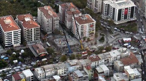 İzmir'de Ağır, Acil ve Yıkık Bina Sayısı 41 Oldu