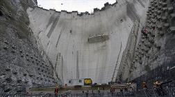 Yusufeli Barajı'nın Gövde Yüksekliği 244 Metreye Ulaştı