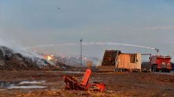 Adana'da Enerji Tesisindeki Yangın Devam Ediyor