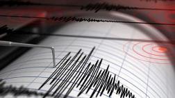 Ege'de 4.5 Büyüklüğünde Deprem