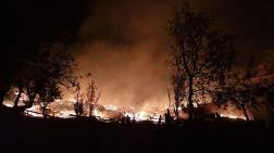 Kastamonu Tepeharman Köyünde 10 Ev Yandı