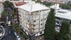 Bakırköy'de 6 Katlı Bina Çelikle Güçlendirildi