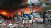 Kartal'da Kağıt Fabrikası Yandı