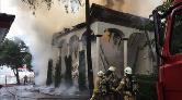 Tarihi Vaniköy Camii Yandı