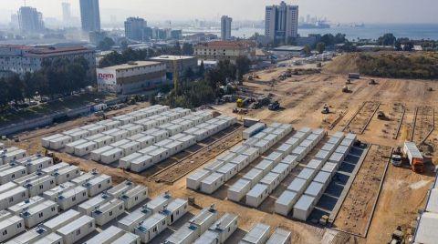 İzmir'de Konteyner Kurulumu Devam Ediyor
