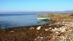 Sapanca'da Su Seviyesi Kritik Noktaya Düşüyor