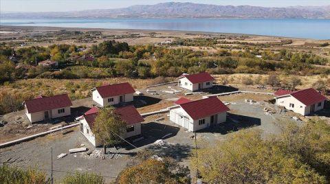 Elazığ'ın Köylerindeki Depremzedeler Yeni Evlerine Kavuşacak