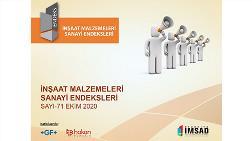 Kentsel Dönüşüm - Türkiye İMSAD İnşaat Malzemeleri Sanayi Bileşik Endeksi Sonuçları Açıklandı