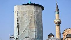 Mevlana Müzesi'nin Kubbesi 100 Ton Yükten Kurtarıldı