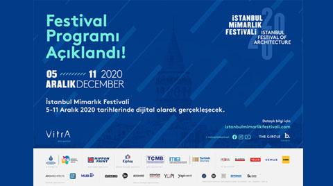 İstanbul Mimarlık Festivali 2020'nin Programı Açıklandı