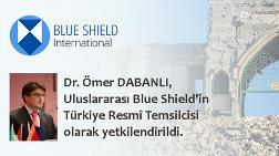 Ömer Dabanlı, Blue Shield'in Türkiye Resmi Temsilcisi Oldu