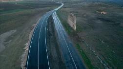Edirne'de Tarihi Duvarın Korunması için Yol Kaydırıldı
