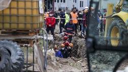 Ankara'da İnşaat Alanında Toprak Kayması