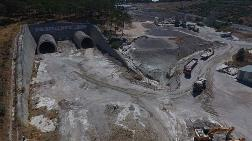 Kazdağları'nın Aşılmasını Kolaylaştıracak Tüneller Tamamlanıyor