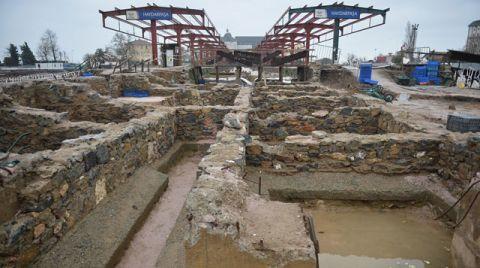 Haydarpaşa Garı'ndaki Kazılarda Yeni Keşif