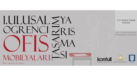 Konfull 1. Ulusal Öğrenci Ofis Mobilyaları Tasarım Yarışması