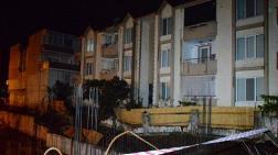 Otel İnşaatında İstinat Duvarı Çöktü