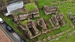 Sancaktepe'deki 14 Yüzyıllık Saray Gün Yüzüne Çıkarılıyor