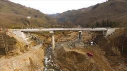Selde Yıkılan Menfezin Yerine Yapılan Köprü Açılıyor