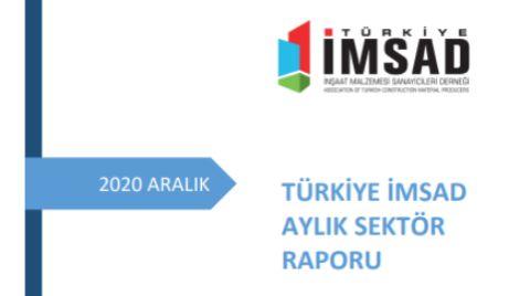 Türkiye İMSAD 'Aralık 2020 Sektör Raporu' Açıklandı