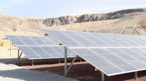 Bor Belediyesi'nin Kurduğu GES, Elektrik Üretimine Başladı