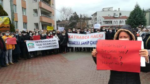 Halk Olmadan 'Halkın Katılım Toplantısı' Yapıldı