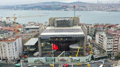Atatürk Kültür Merkezi İnşaatının Yüzde 82'si Tamamlandı