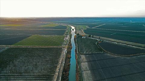 Tatlı Suyun Yüzde 70'i Tarımsal Sulamada Kullanılıyor