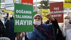 Bursa'da Kalker Ocağına Karşı Mücadele Başladı