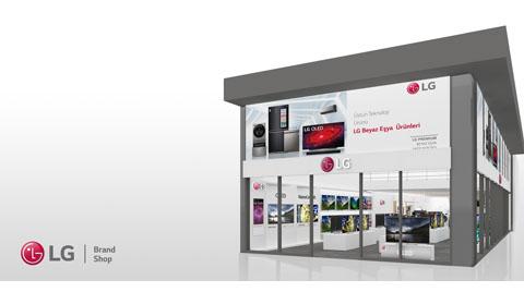 LG Yeni Mağazasını Antalya'da Açtı
