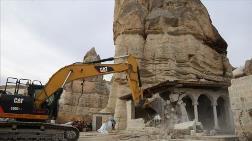Kapadokya'da Sit Alanındaki 25 Yapı Daha Yıkıldı