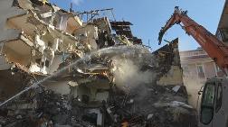 Balkonları Çöken Bina, 44 Gün Sonra Yıkıldı