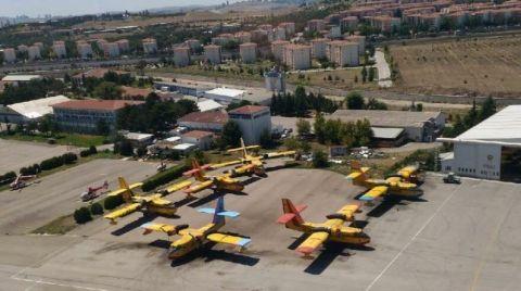 Yangın Söndürme Uçağı İhalesi İptal Edildi