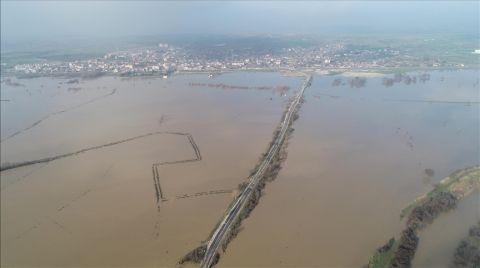 Ergene Nehri'ndeki Taşkın Riski için 'Kırmızı Alarm'