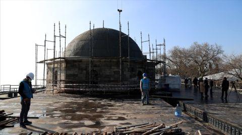 Fatih Köşkü'ndeki Restorasyon Nisan Sonunda Bitirilecek