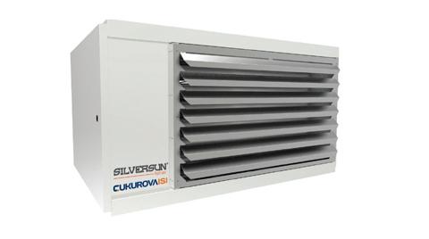 Çukurova Isı'dan Silversun Sıcak Hava Üreticileri