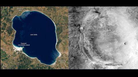 NASA'dan Salda Paylaşımı: Mars'a Dair Fikir Verecek