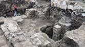 Otopark Kazısında Tarihi Kalıntılar Bulundu