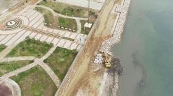 Mavişehir'de Taşkınları Önleyecek Proje Sürüyor