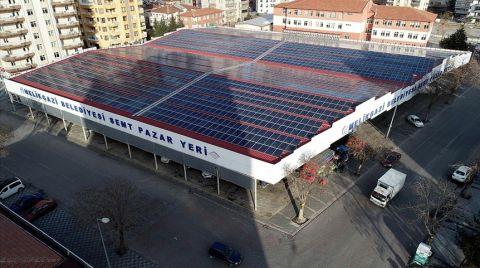 Belediye Bütçesine 15 Milyon Liralık Güneş Enerjisi Katkısı
