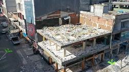 Binaların Taşıyıcı Kolonlarını Kaldırmışlar