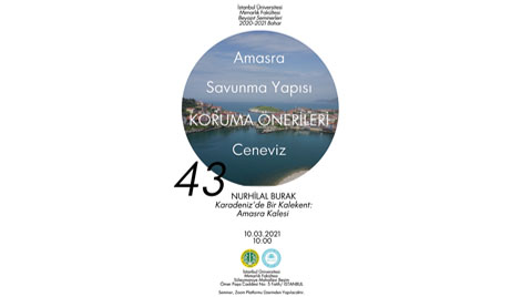 Beyazıt Seminerleri 43: Karadeniz'de Bir Kalekent: Amasra Kalesi