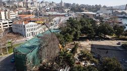 Tarihi Yapı, Haliçport'un Otoparkı için mi Yıkılıyor?