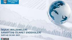 Kentsel Dönüşüm - İMSAD Ocak Ayı Dış Ticaret Endeksi'ni Açıkladı