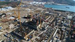 Akkuyu'da 3. Reaktörün Temeli Atıldı
