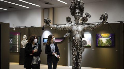 ArtAnkara Uluslararası Çağdaş Sanat Fuarı Kapılarını Açtı