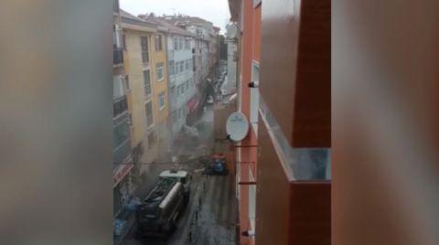 İstanbul'da Tepki Çeken Yıkım