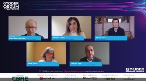 GYODER Çözüm Platformu'nda Ofislerde Yaşanan Değişim Konuşuldu